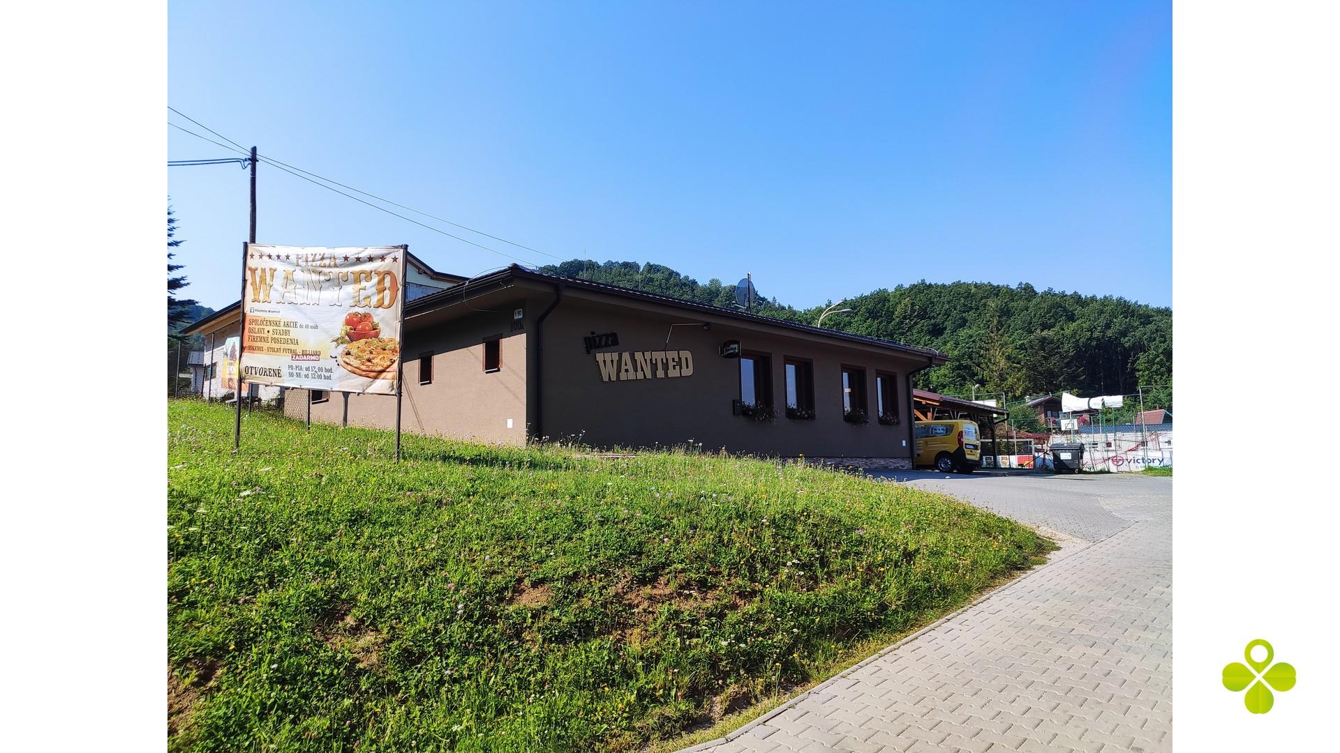 Zabehnutá reštaurácia vo Veľkej Lehôtke,k.ú. Prievidza